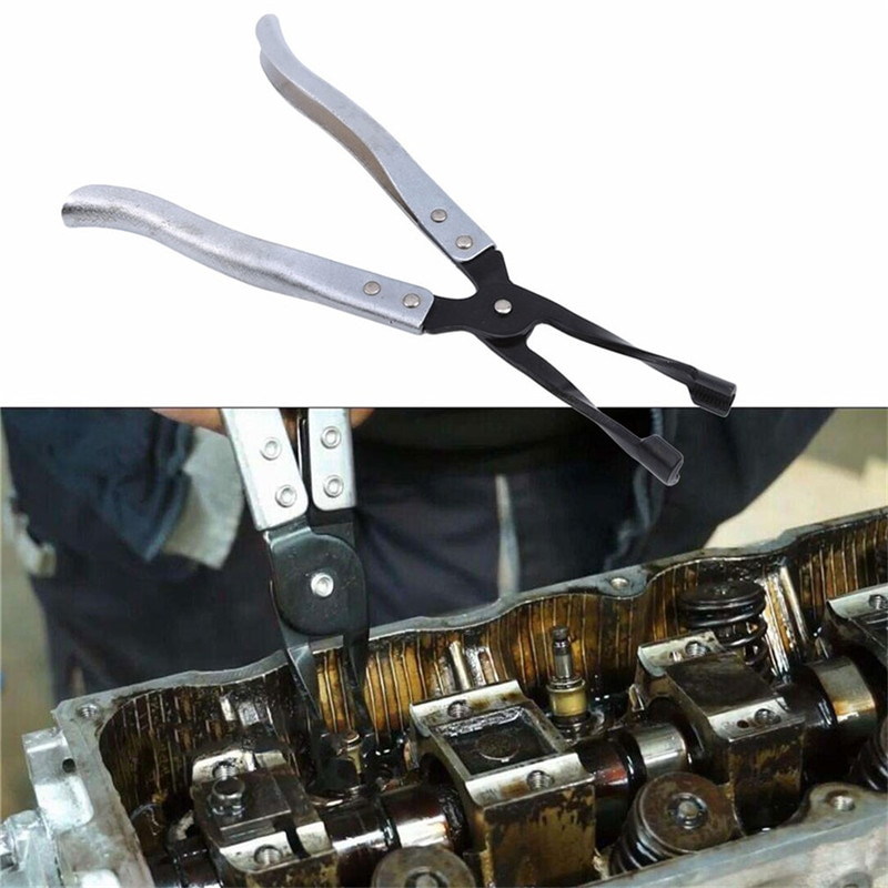 ホット販売クリエイティブ車のエンジンオイルバルブスプリングクランプ解体バルブステムシールガスケットプライヤーリムーバー
