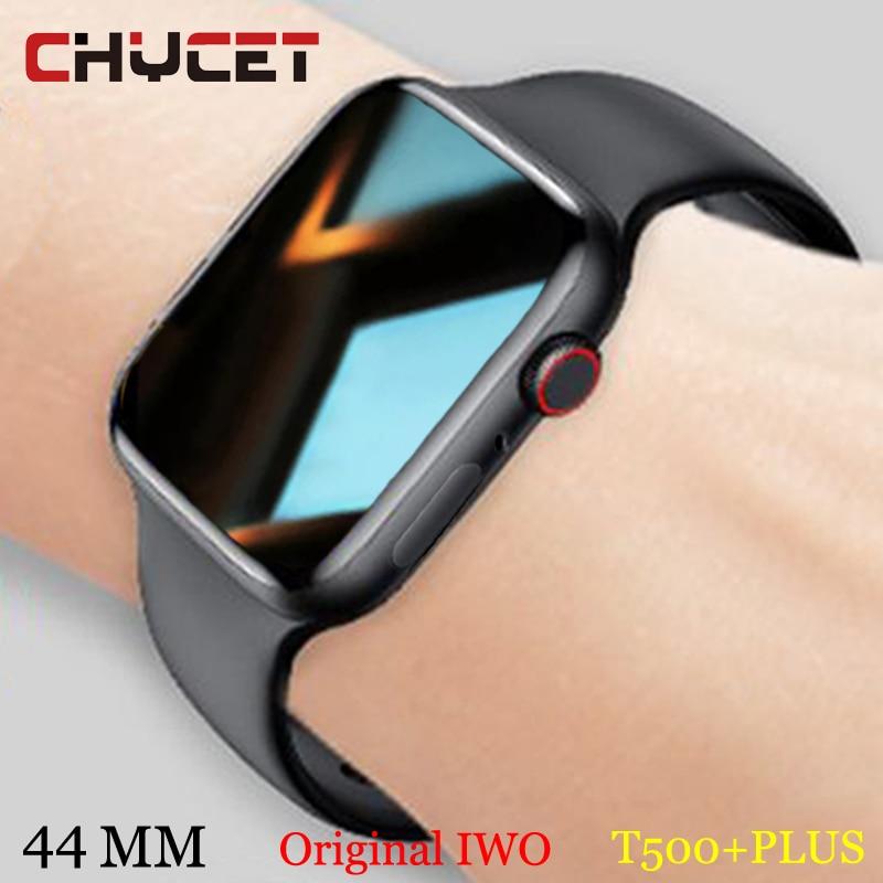 CHYCET 2021 Smart Watch Original IWO Series 6 Watch 44MM BT Call DIY Faces Split Screen Sport Smartw