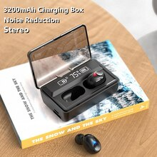 NEW T08 Stereo Wireless Bluetooth 5.0 Headphones TWS Bluetooth Earphones Noise Cancelling Gaming Hea