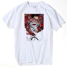 2019 été T-Shirt à manches courtes hommes T-Shirt japon Anime Akira Tetsuo Kaneda Neo Tokyo Fitness T-Shirt hommes vêtements hauts t-shirts