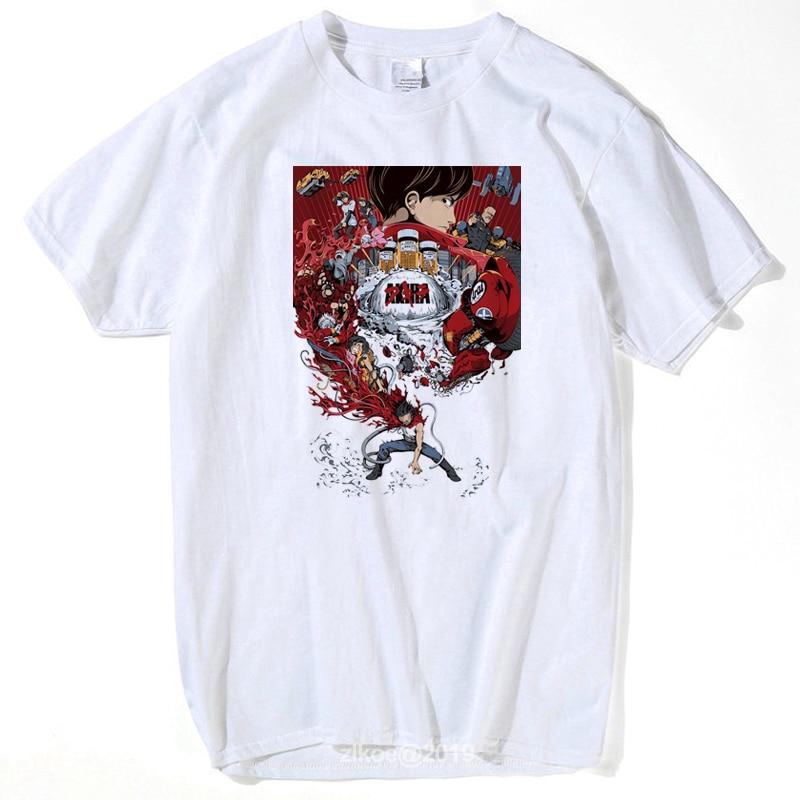 Мужская футболка с коротким рукавом, японское аниме Akira Tetsuo Kaneda Neo Tokyo, футболка для фитнеса, Мужская одежда, футболки, лето 2019