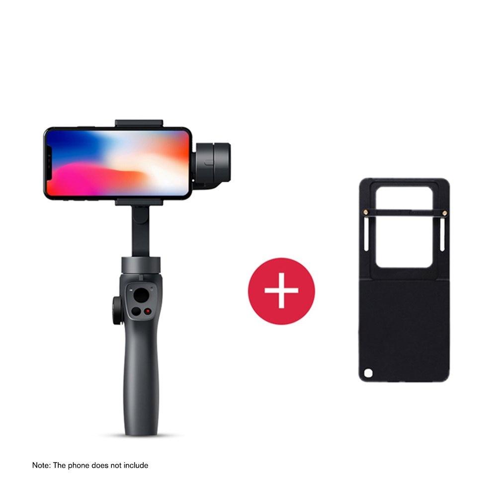 FUNSNAP Capture2 Stabilisator Gimbal Neue Handheld Gimbal Live Stabilisator Kompatibel für GOPRO Action Kamera 4/5/6/7 Smartphone