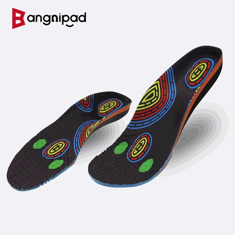 BANGNIPAD Healthy Insoles Arch Support Relieve Bone Spurs Plantar Fasciitis Heel Pain Plantar Fasciitis Shoes Pads Men Women