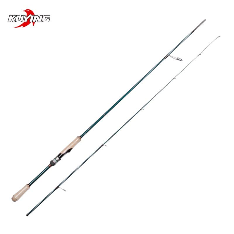 KUYING BATTLE SONG Spinning 2.19m 2.16m Fishing Lure Rod Stick Cane FUJI Parts Light FAST Action Medium Light Universal Tackle enlarge