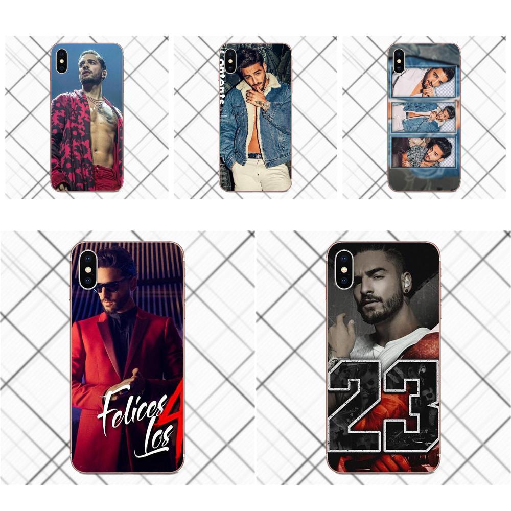 Tpwxnx For Samsung Galaxy A3 A5 A7 J1 J2 J3 J5 J7 2015 2016 2017 TPU Phone Cases Covers Fashion Maluma Ozuna Pop Hip Hop Rapper