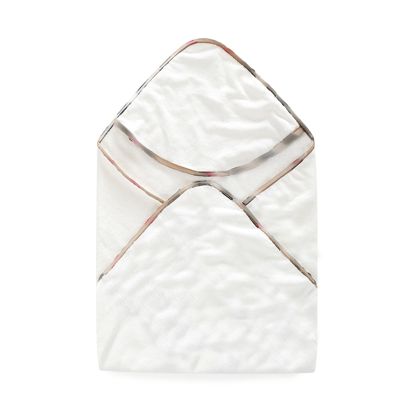New 2021 winter Fashion Stitching letter style newborn Baby clothes cotton knit bath towel wrap new born baby boy girl blankets