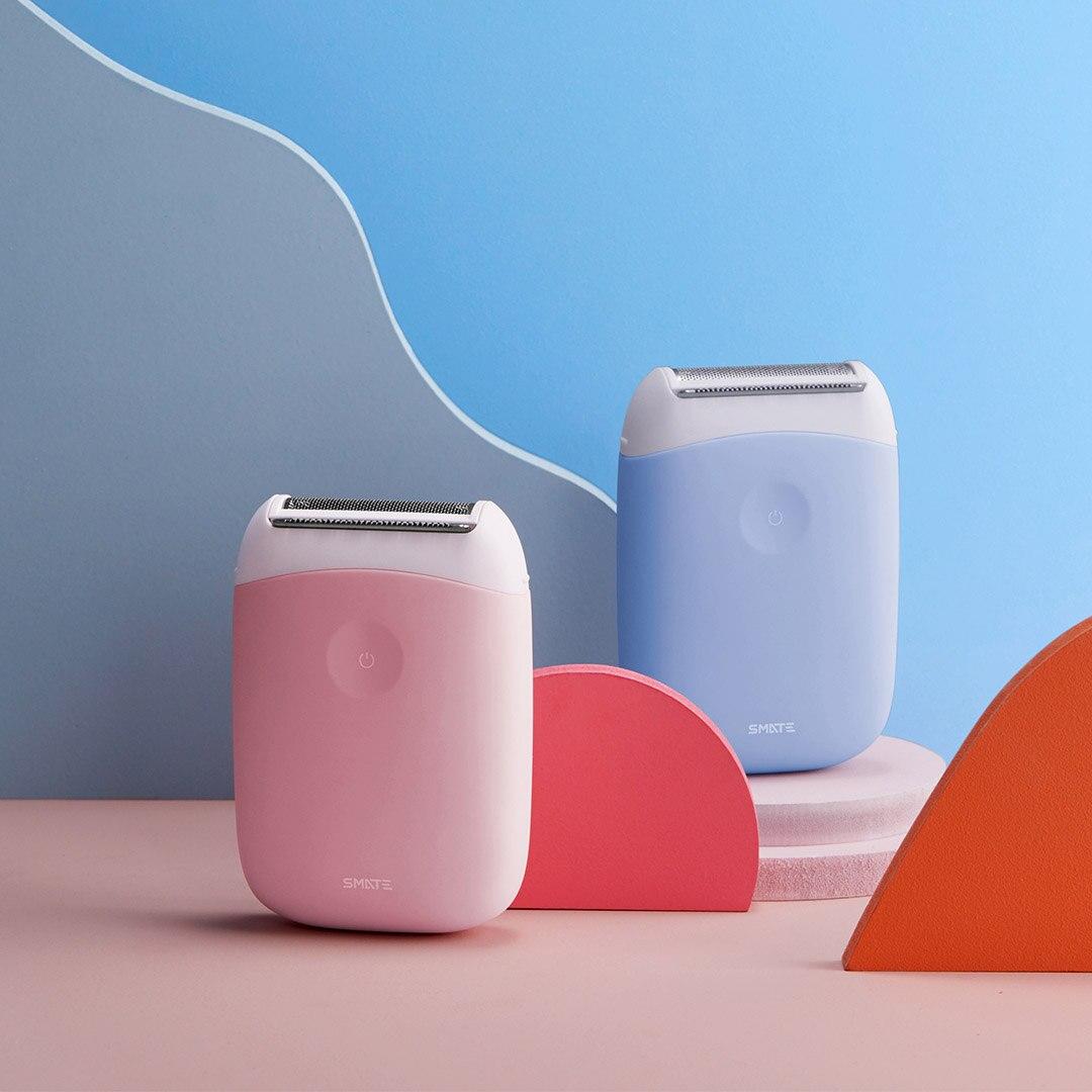SMATE-ماكينة حلاقة كهربائية صغيرة 3 في 1 ، ماكينة حلاقة محمولة ، مقاومة للماء ، USB ، قابلة لإعادة الشحن ، لإزالة الشعر ، نظيفة ومريحة