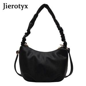 Роскошная модная женская сумка JIEROTYX через плечо, шикарные сумки на плечо, сумка-минодьер, женские многофункциональные сумки, новинка 2020