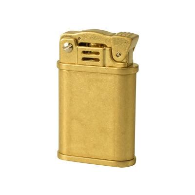 Encendedor de aceite de Metal nostálgico Vintage jefe, encendedor de líquido de queroseno