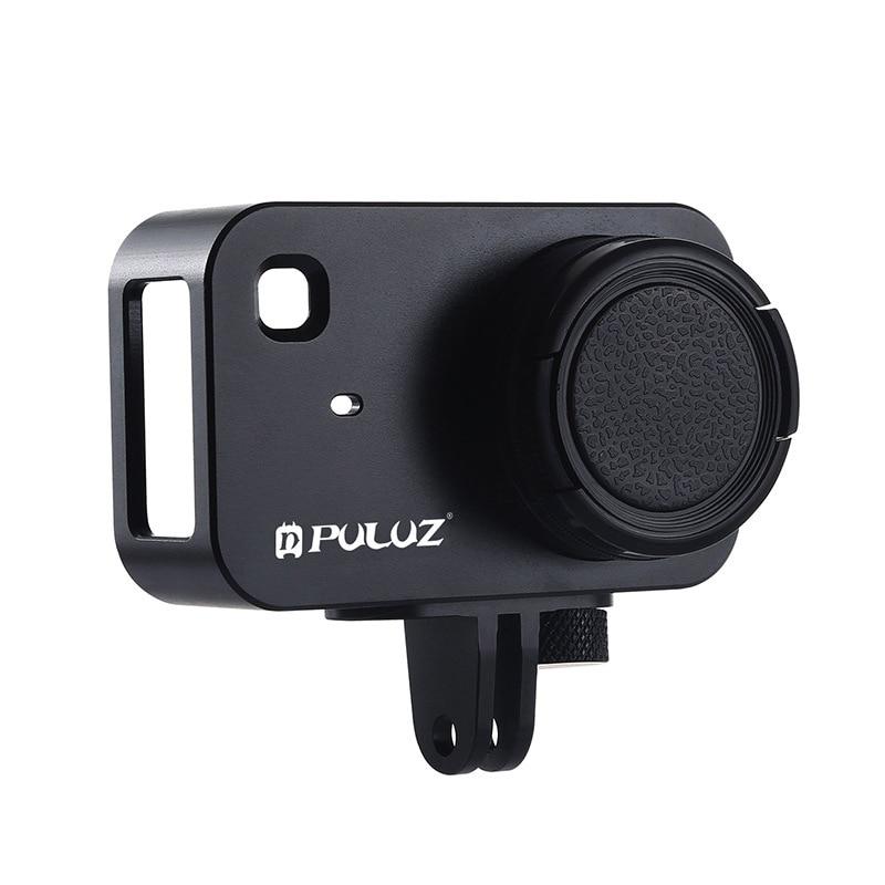 Su geçirmez kılıf için Xiaomi eylem kamera koruyucu çerçeve konut Case Shell UV Lens filtre Xiaomi Mijia 4K kamera