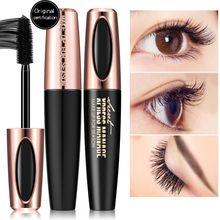MACFEE 4d Volume Silk Fiber Mascara Waterproof Eyelashes Makeup Eyelash Growth Lengthens Cosmetics B