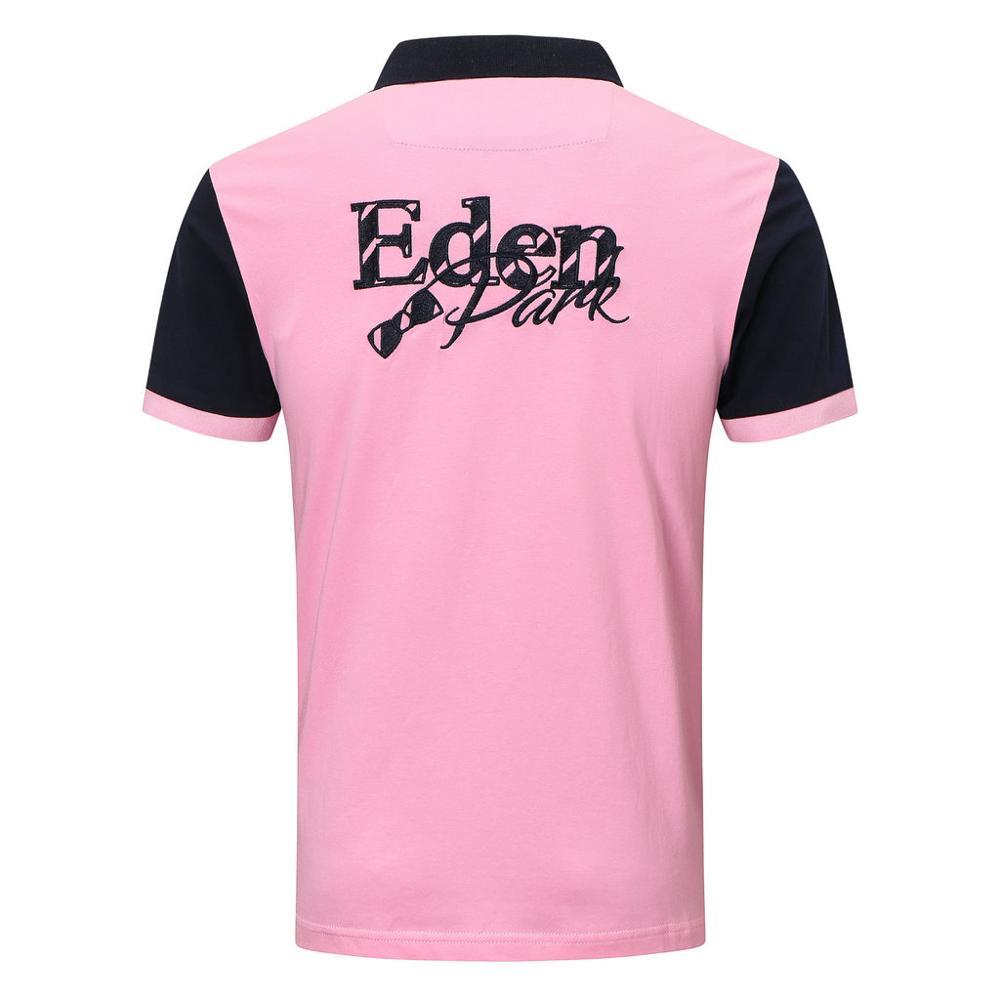 New Men Short Sleeve park Polo Shirt High Quality Mens Casual Embroidery Cotton eden homme Polo shir