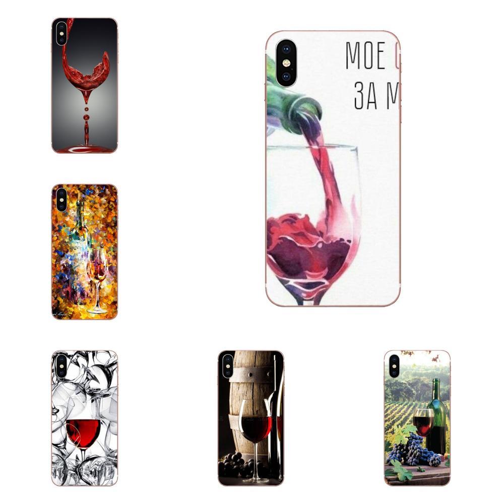 For Samsung Galaxy A10 A20 A20E A3 A40 A5 A50 A7 J1 J3 J4 J5 J6 J7 2016 2017 2018 Luxury Cool Love Drinking Wine