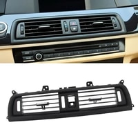 1 pcs front row wind center air conditioning vent grill outlet panel 64229166885 for bmw 520i 520d 523i 530d xdrive 535d
