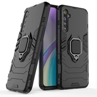 stand holder car ring phone cover shockproof armor case for oppo realme 3 5 a1k c2 c3 x x2 pro xt a5 a9 2020 reno ace 2 z 2z