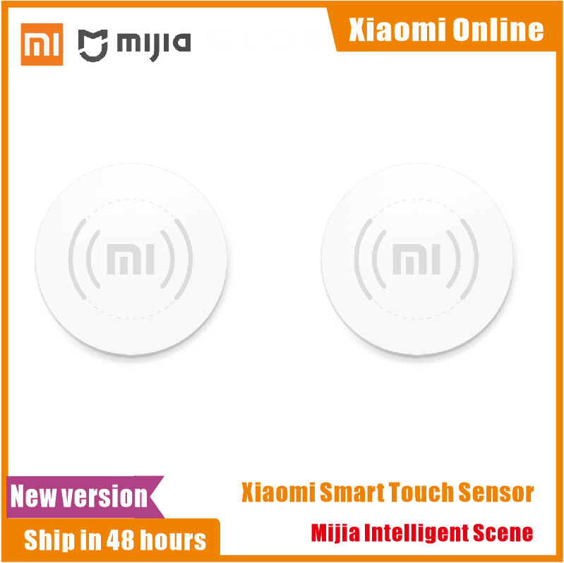 Xiaomi Mijia Smart Touch Sensor Smart For Home Furnishing Set Wireless Switch Audio Video Player Wi-Fi Connection APP Control