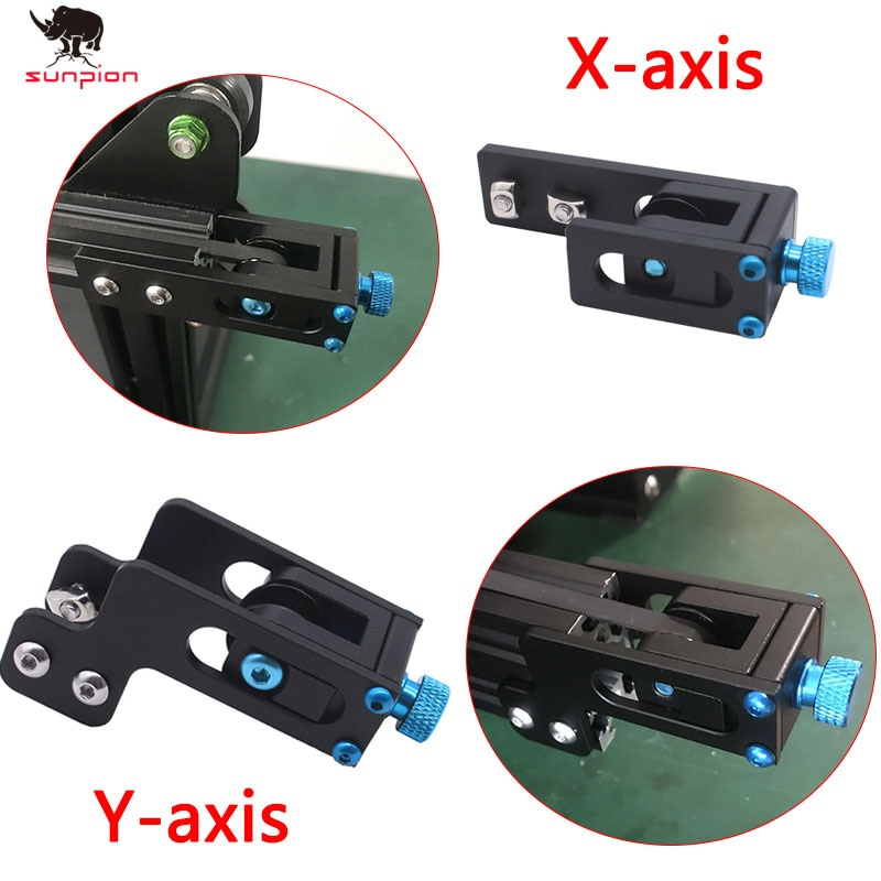 3D Printer Parts For Creality Ender-3 Upgrade 2020 Profile X/ Y-axis  Synchronous Belt Stretch Straighten Tensioner