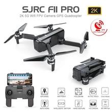SJRC F11 PRO GPS Drone Met Wifi FPV 1080 P/2 K HD Camera F11 Borstelloze Quadcopter 25 minuten vliegtijd Opvouwbare Dron Vs SG906