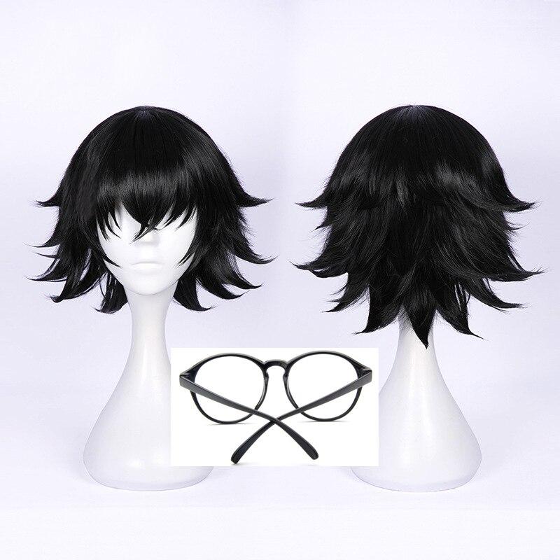 Shizuku Murasaki Wig Anime Hunter x Hunter Short Black Heat Resistant Synthetic Hair Wigs + Wig Cap