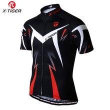 X-tiger Pro maillots de cyclisme Ropa Ciclismo vêtements de VTT à séchage rapide vêtements de vélo de course pour hommes tenue de sport vtt
