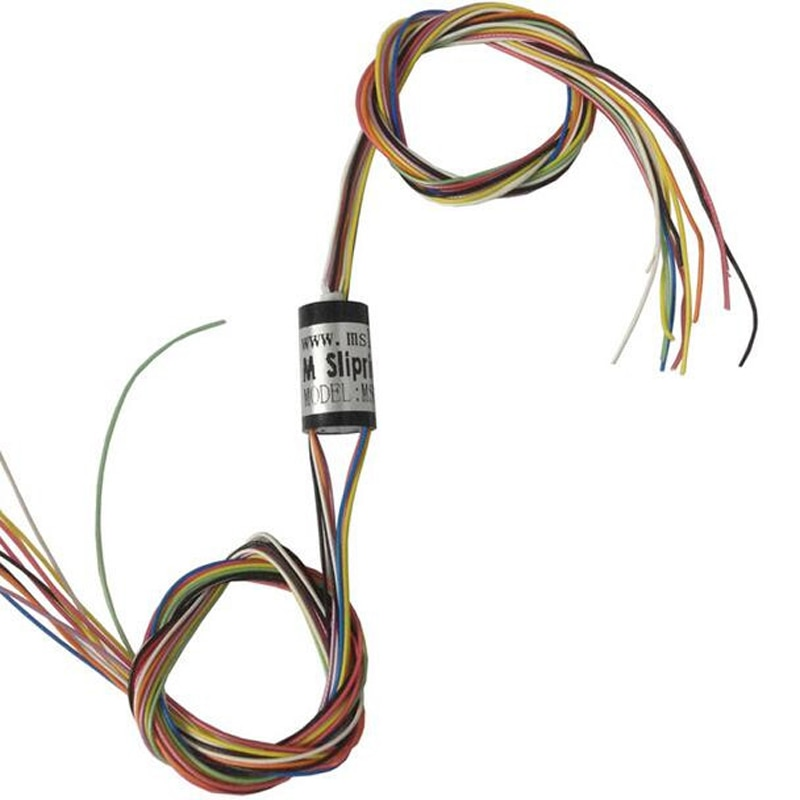 M slipring Dia.8.5mm 4 8 12 Channel Mini Electric Slip Ring for FPV Gimbal Handheld Stabilizer msm-08-04u msm-08-08u msm-08-12u