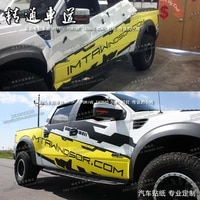 car stickers for ford raptor modified car body exterior personalized custom off road decals