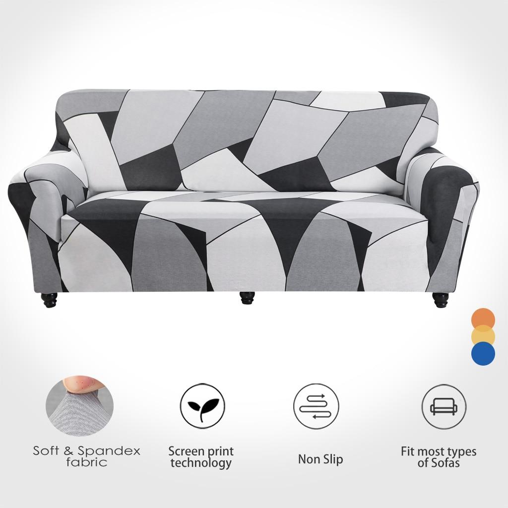Чехол для дивана с эластичным принтом, чехол для дивана для гостиной, угловой диван, l-образный диван, доставка от ES FR, чехол для дивана
