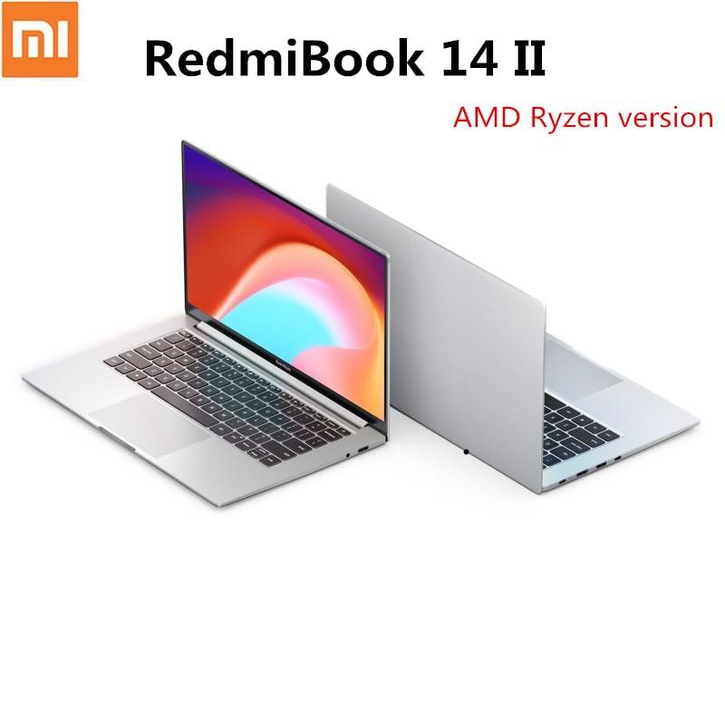 Xiaomi-ordenador portátil RedmiBook 14 II, versión 2020, pantalla de 14 pulgadas, AMD Ryzen R5-4500U, 8GB/16GB, 512GB DDR4, SSD, gráficos, Notebook, Windows 10