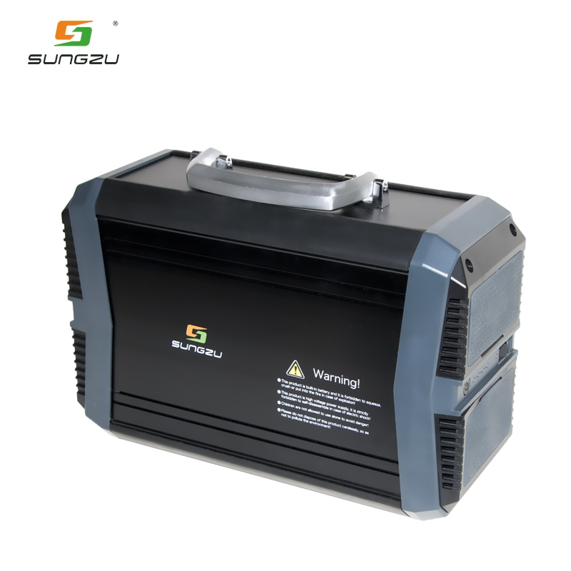 Outdoor  Home 110V 220V Big Capacity Solar Generator Bank 300W Portable Power Station enlarge