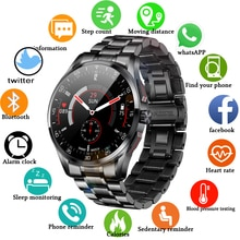 Men smart watch can Answer dial Bluetooth Call IP68 waterproof Sport watch 2021 New steel band smart