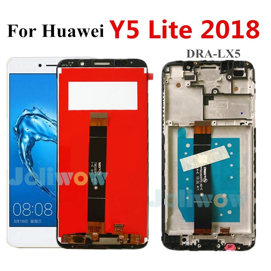 Pantalla LCD Original de 5,45 pulgadas para Huawei Y5 Lite, pantalla LCD de 2018 DRA-LX5, conjunto de pantalla táctil para Huawei Y5 Lite 2018 Lcd