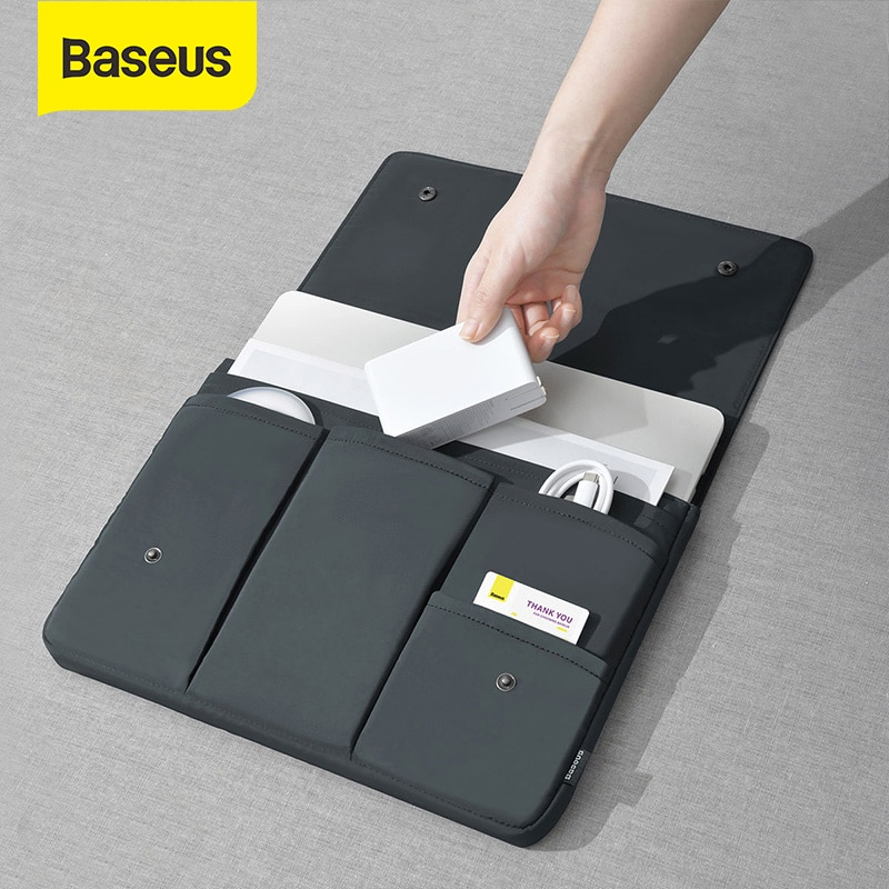 Baseus Laptop Bag for Macbook Pro 13 15 inch Case Tablet Sleeve Notebook Cover for Macbook Air Ordin