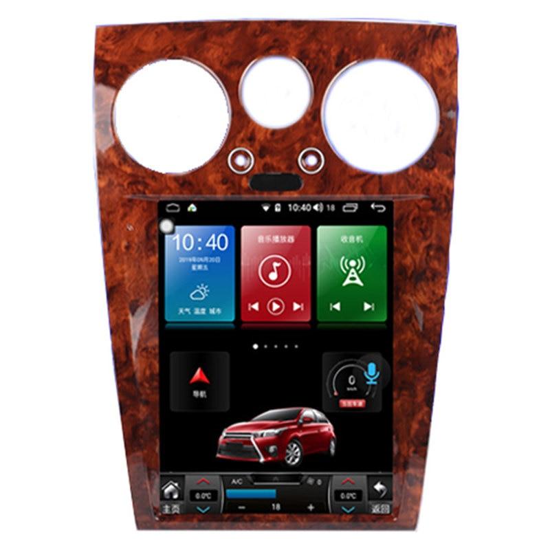 "12.1"" Tesla Android Multimedia Car Radio Audio Sat Nav for Bentley Flying Spur 2004 2005 2006 2007 2008 2009 2010 2011 2012"