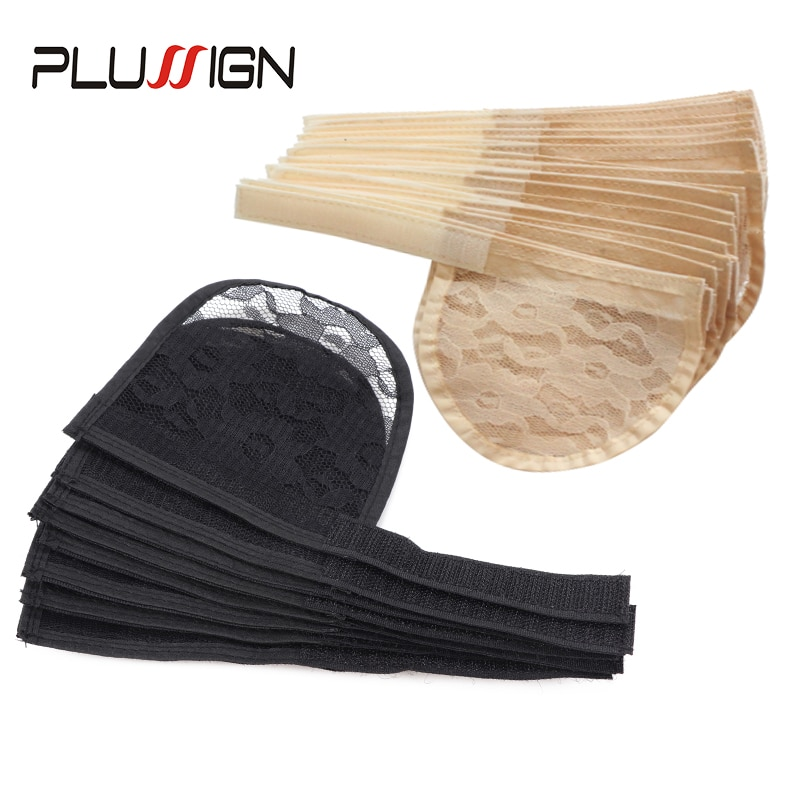 Nunify Ponytail Hairnet Wig Cap For Making Ponytail Afro Puff Bun With Adjustable Strap Weaving Wig Caps Poney Tail Wig Maker