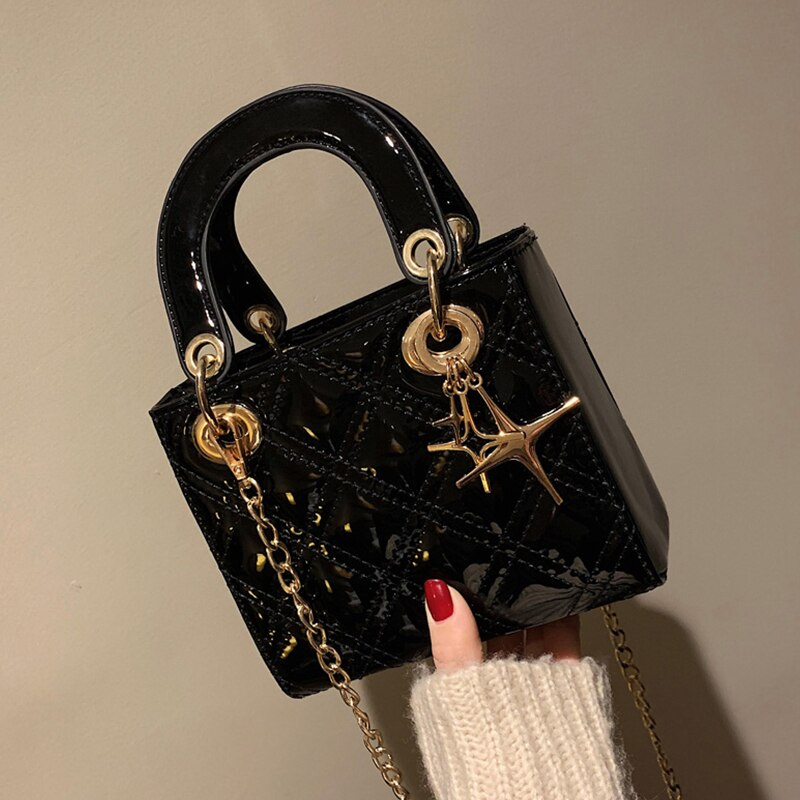 Luxury Brand Handbag 2021 Fashion New female Tote bag Quality PU Leather Women's Designer Handbag Chain Shoulder Messenger bags
