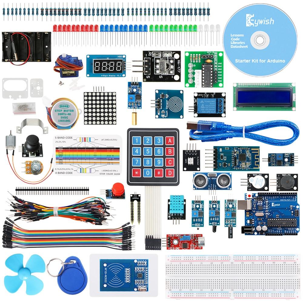 Суперстартовый rfid-набор Keywish для Arduino UN