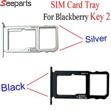 """NEW For Blackberry Keytwo Key2 Sim Card Tray 4.5"""" BBF100-1 BBF100-2 BBF100-6 Sim Card Tray Holder For Blackberry Key 2 Sim Card"""