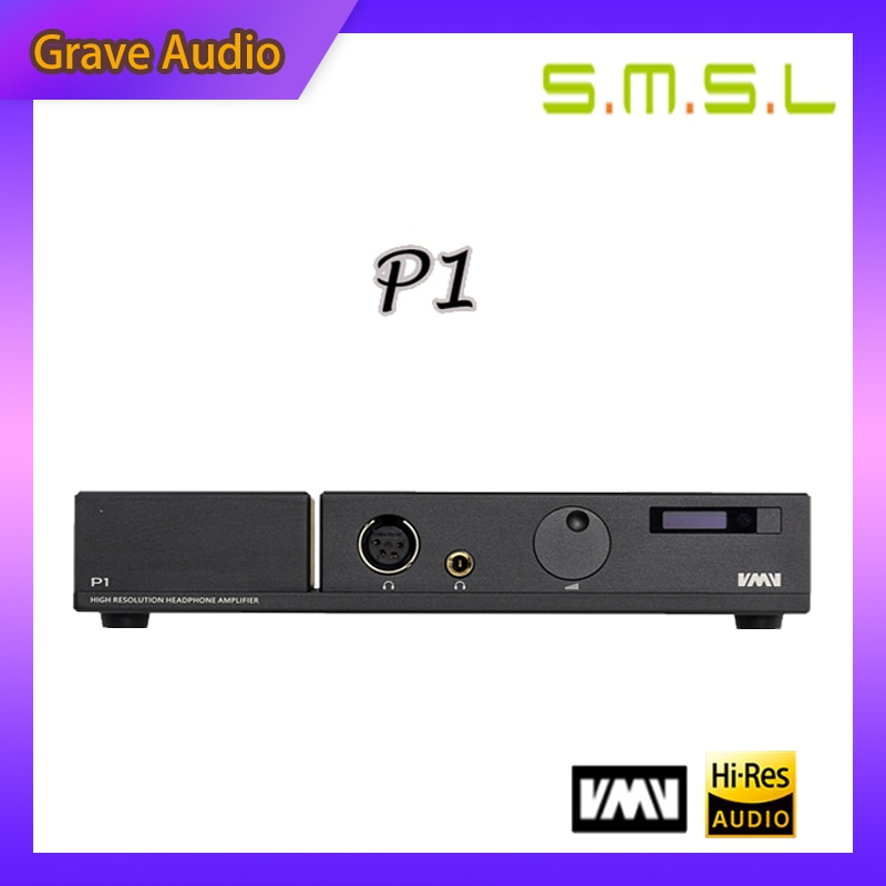 Amplificador de Fone de Ouvido Amplificador de Auscultadores de Áudio de Alta Smsl Hi-end Desktop Totalmente Equilibrado Fidelidade p1