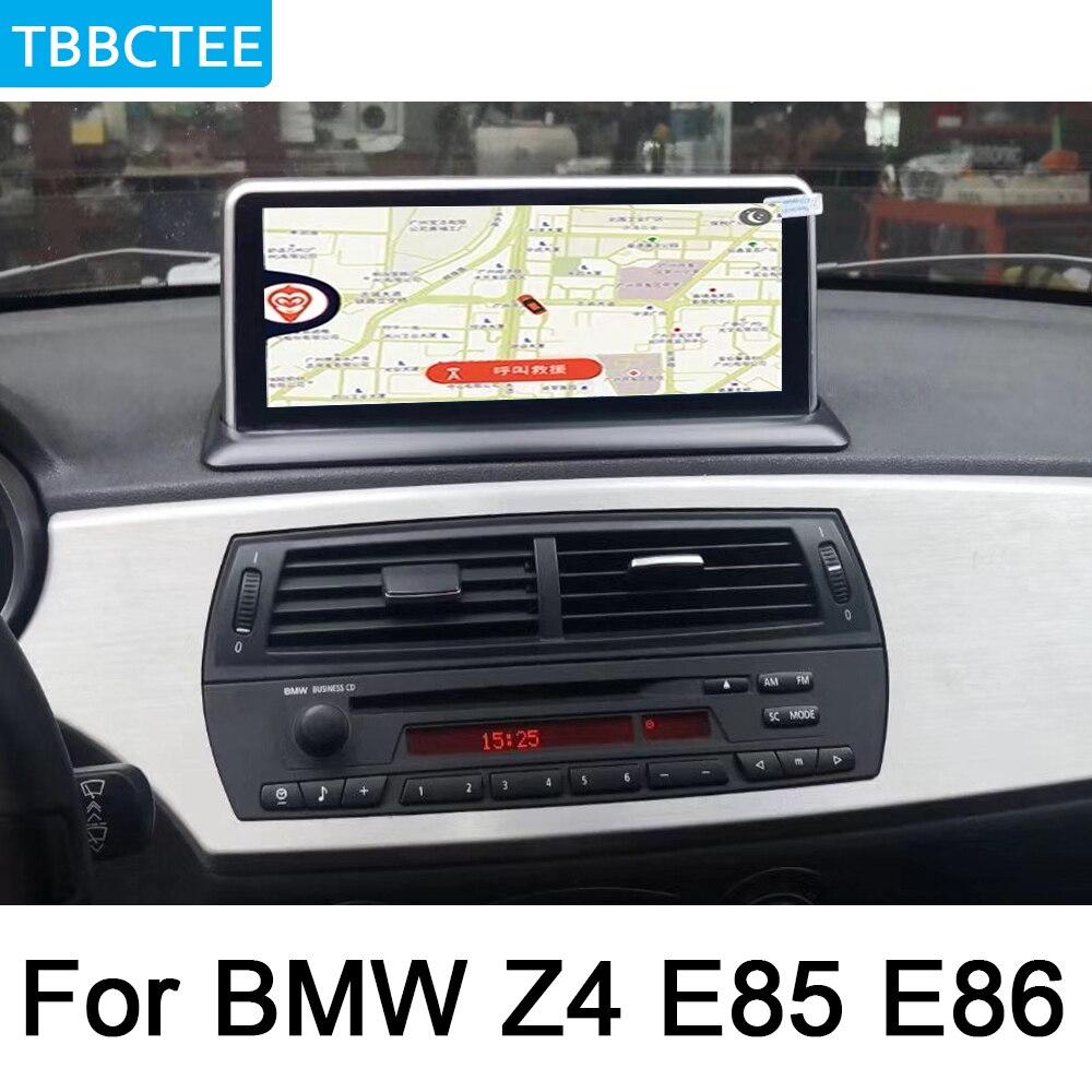 Para BMW Z4 E85 E86 2002 2008 reproductor Multimedia Android estilo original coche DVD Navi Audio estéreo HD pantalla táctil WiFi Bluetooth