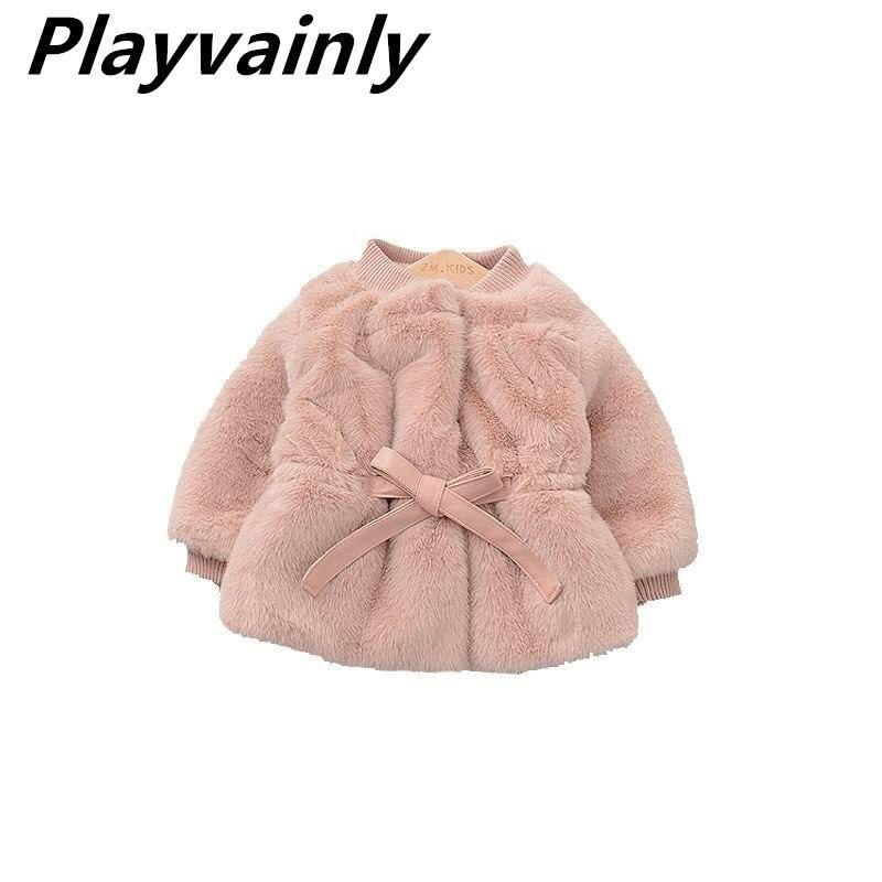 Girls Winter Coat Toddler Girl Winter Coats Pink Ivory Wool Coat Girls Jackets Kids Winter Clothes E84207