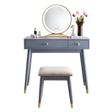 Commode avec tiroir chambre bois massif commode avec miroir lumineux commode tabouret combinaison