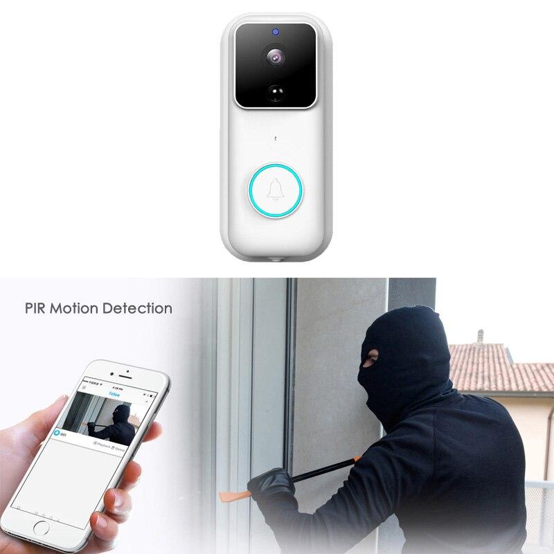 1080P Full HD Wireless Intercom Night Vision Cloud Storage WIFI Security Camera Smart Video Door Chime Doorbell enlarge