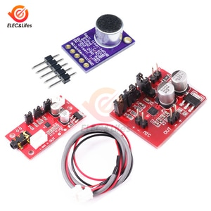 DC 5V MAX9814 Electret Microphone AGC Amplifier Board Module Auto Gain Control Programmable Attack & Release Ratio Low THD