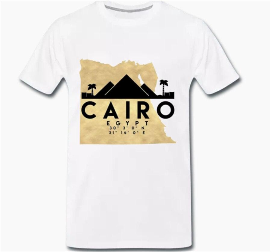 Tops camiseta Jersey Souvenir Mapa El Salvador Egipto-divertido 1-S-M-L XL Harajuku moda clásica camiseta