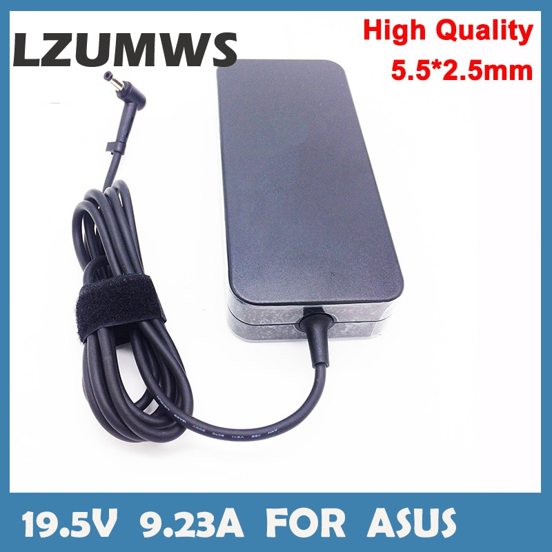 180W Notbook Power Supply 19.5V 9.23A 5.5*2.5mm Laptop Adapter for Asus FX503VM Serie Gaming Notbook