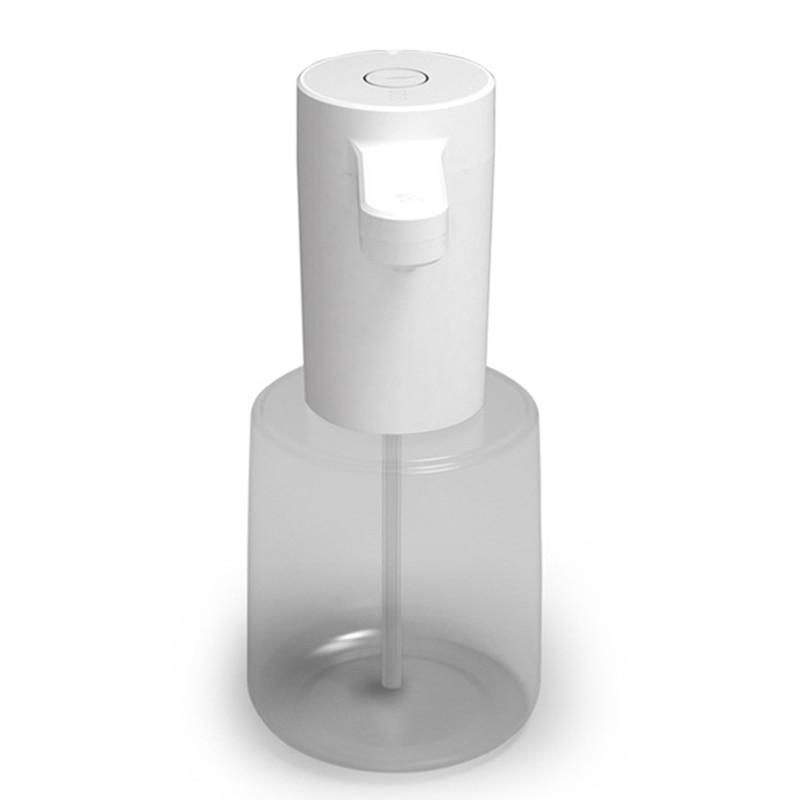 وعاء توزيع الصابون الأوتوماتيكي لشامبو جل الاستحمام اليدوي وصابون غسيل الأطباق (450 مللي)