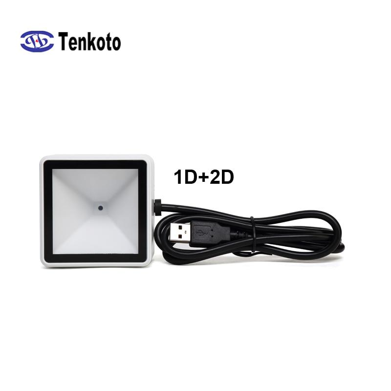 USB 2D الباركود المسح الضوئي وحدة ماسحة يمكن جزءا لا يتجزأ من دمج كشك CCD البيع آلة 1D ماسحة T-6000