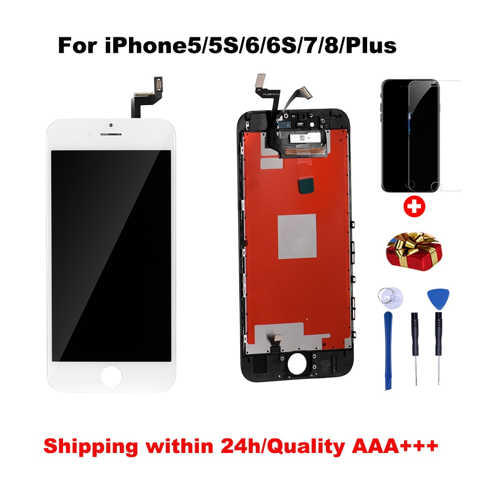 Grade AAA++LCD For iPhone 6 6S 6Plus 6SPlus With Perfect Touch Screen Digitizer Assembly For iPhone