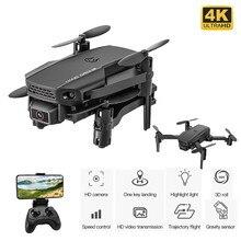 Mini Drone pliable avec caméra 4K HD, jouet pour enfant, quadricoptère FPV avec une touche retour