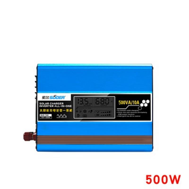 Saul solar inverter integrierte maschine convertidor 12v 220v modifizierte sinus welle hause lade inverter gebaut-in-controller